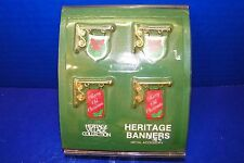 Christmas Dept 56 Heritage Village Banners Accessory 5526-3 Signs Wreaths