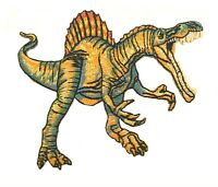 JURASSIC DINOSAUR T-REX RAPTOR TRICERATOPS EMBROIDERED IRON/SEW-ON PATCH