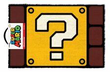 Super Mario (Question Mark Block) Doormats GP85084 DOOR MAT 60 X 40cm