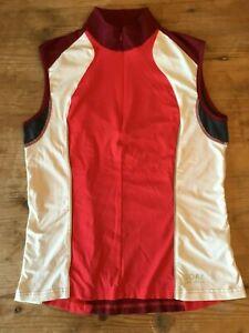 Womens Gore Bike Wear Sleeveless Cycling Jersey - Size 38