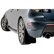 Rally Armor MF9-BAS-BLK Basic Series Plastic Mud Flap Set Black