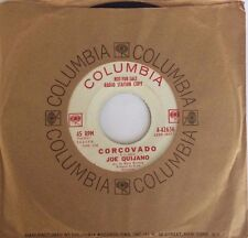 "JOE QUIJANO CORCOVADO / NEVER TOO LATE USA 7"" SINGLE WLP RADIO STATION COPY"