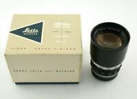 LEICA Telyt 4/200 200 200mm F4 4 M39 LTM M-39 adaptable M Leitz OVP box /19