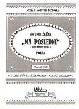 Blasmusiknoten Ma posledni / Meine letzte Polka