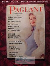 PAGEANT December 1962 Dec 62 MARYLENE CHRISTINE KAUFMANN LAURENCE HARVEY +++