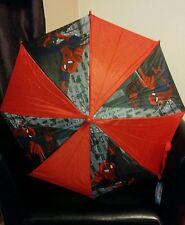 Children's Oficial Marvel Spiderman paraguas BNWT Hermosos Colores Brillantes