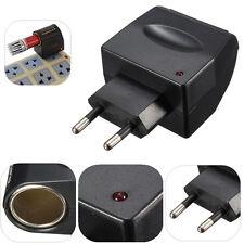 220 V Ac A 12v Dc coche cigarrillo encendedor De Pared Power Socket Plug Adapter Converter