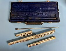 Gemeinhardt Silver Flute with Case,  Alto Musical Instrument, Band, One Owner