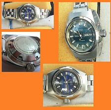 ge sub 10 ATM 21 JEWELS STENIS swiss made  AUTOM. all stainless s. LADY NOS 1990