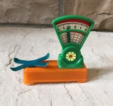 Vintage Plastic Toy Produce Weighing Scale Made in Hong Kong