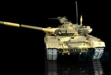 Henglong 1/16 6.0 Russia T90 Rtr Rc Tank 3938 360° Turret Metal Tracks Red Eyes