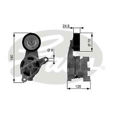 GATES T38438 Tensioner Pulley, v-ribbed belt
