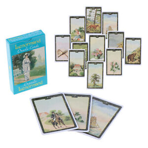 36Pcs/box Lenormand Oracle Cards English Version Board Game Tarot Deck Cards*OI