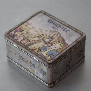 New Fallout 3 4 Vault-Tec Metal Weathered Tin Lunchbox Replica by FanWraps