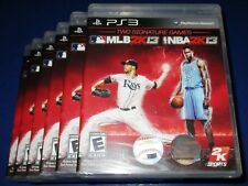 Lot of 6 MLB 2K13/NBA 2K13 Combo Pack Sony PlayStation 3 *New! *Free Ship!