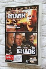 Crank  / Chaos (DVD, 2007, 2-Disc Set) Free postage