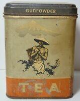 Vintage 1930s FERNDELL TEA GRAPHIC ADVERTISING TIN SPRAGUE WARNER & CO CHICAGO