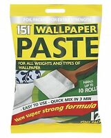 Wallpaper Paste All Purpose Super Strong Stick Adhesive Glue 12 Pints