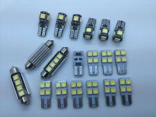 BMW X3 F25 FULL LED Interior Lights kit set 19 pcs SMD Bulbs White Error Free