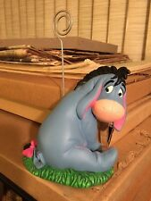 Disney Store Eeyore Card Photo Picture Holder