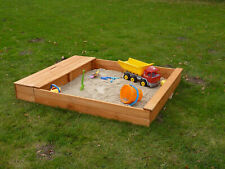 Promadino Sandkasten XXL mit Sitzbox