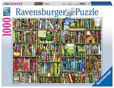 1000 Teile Ravensburger Puzzle Colin Thompson Magisches Bücherregal 19137