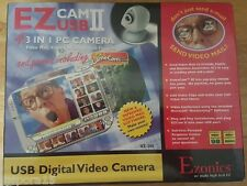 Ezonics NEW SEALED EZ Cam II USB Digital Video 4 In 1 PC Camera