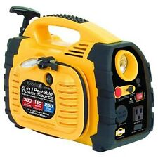 Rally Portable 8 in 1 Power Source and Jumpstart Unit with Hand Generator (7471)