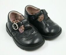 Kid Connection Baby Girl Black Mary Jane Shoes Size 4M