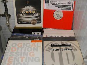 12 Vinyl Techno/House z.B Hector - Luv me & Diverse
