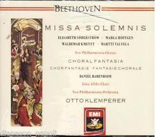 Beethoven: Missa Solemnis, Fantasia Corale / Klemperer, Barenboim - CD Emi