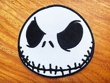 Disney's JACK SKELLINGTON FROM NBC Embroidered Iron On/ Sew On Applique Patch