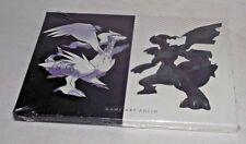 Pokemon White Black Version Game Art Folio Sealed NEW Lithography Nintendo