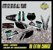 KTM SX 50 65 Motocross Graphics Kit Decals Stickers MX All Years ATHEN