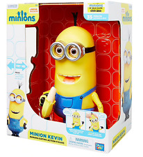 Genuine Talking Minion Kevin with Banana from Despicable Me Minions Movie BNIB