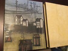 Bernard Buffet, Lithographs,1952-1966, art, slipcase, Fernand Mourlot catalogue