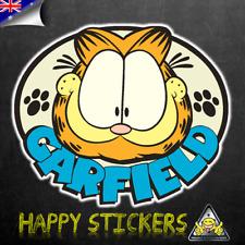 Garfield Badge SKATEBOARD GUITAR Fridge CAR Scooter Laptop DECAL VINYL STICKER