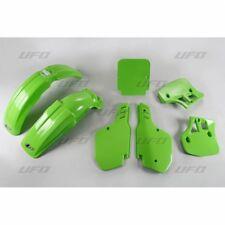 New Kawasaki EVO KX 250 KX 500 1988 88 Colour Green Plastic Kit Plastics