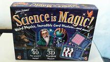 John Adams La scienza è magica AZIONE SCIENZA ESPERIMENTI PER BAMBINI GIOCO CONSEGNA GRATUITA