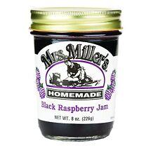 Mrs. Millers Black Raspberry Jam 9 oz. (2 Jars)