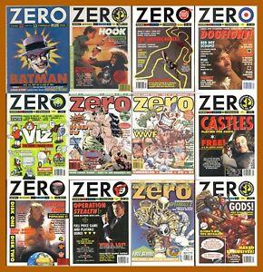 Zero - 16 Bit Uk Video Games Magazine – Complete Run – PDF Download