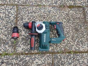 Metabo Akku-Hammer Bohrhammer 18V Bürstenlos KHA 18 LTX 24, Made in Germany