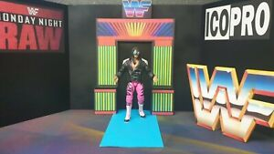 Wwf Mattel Scale Neon Deluxe Entrance Stage. No Fig Included.