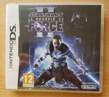 STAR WARS LE POUVOIR DE LA FORCE II 2 VF jeu console Nintendo DS ++ 100% NEUF