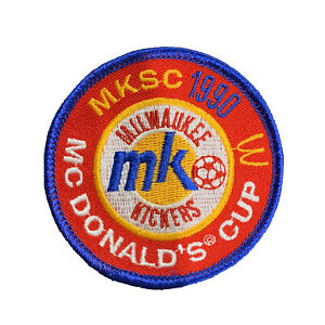 Vintage 1990 Milwaukee Kickers McDonald's Cup Soccer PATCH
