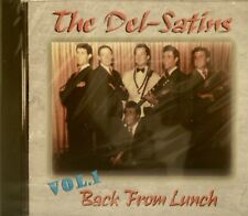 THE DEL-SATINS 'Back From Lunch' - Volume #1 - 31 Tracks