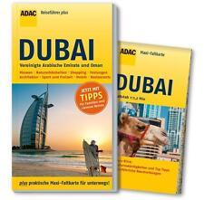 REISEFÜHRER DUBAI OMAN und EMIRATE, ADAC plus,+ Landkarte, UNGELESEN, WIE NEU