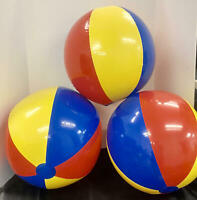 "3-PACK~ Swimline 24"" Beach Balls, Pool~Lake~Beach Fun~Classic Style~Bright Color"