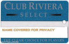 Club Riviera Las Vegas Hotel Casino Player's Rewards Select card -Scarce, HTF