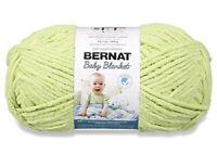 Bernat Blanket Yarn 10.5oz 300g -Lime 1 Skein